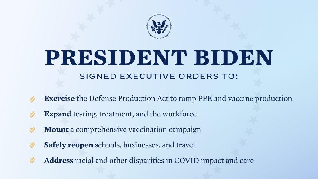 Joe Biden presenta en EEUU el plan COVID-19 basado en ciencia, no política