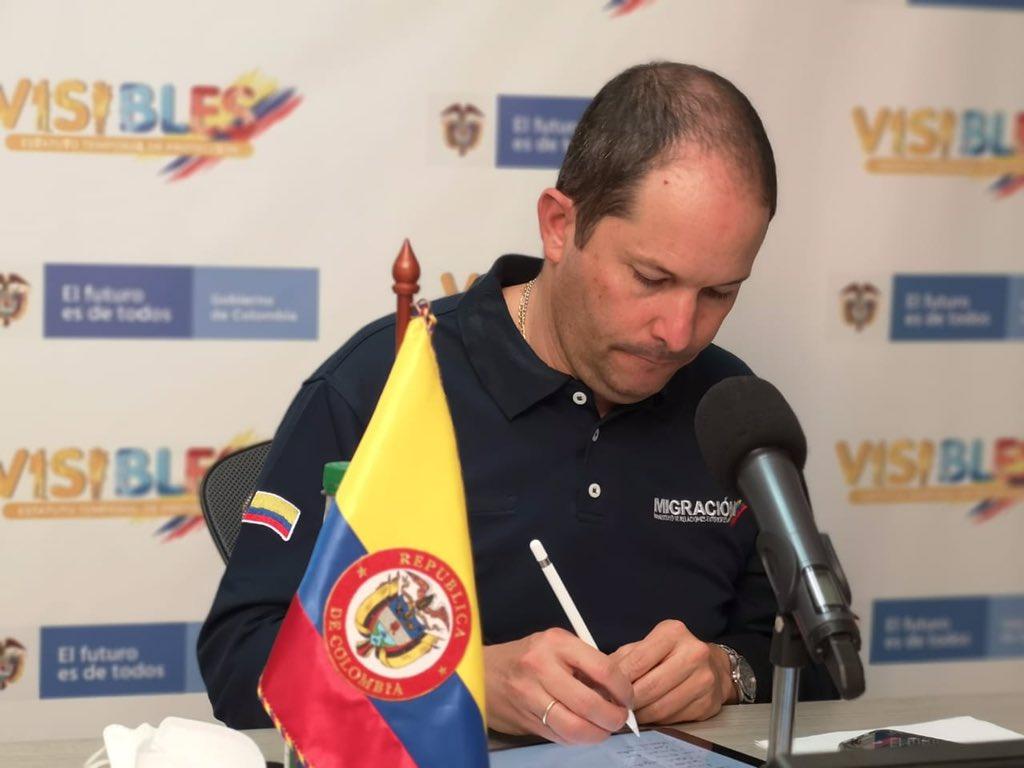 Pasaportes venezolanos tendrán una vigencia en Colombia de 10 años