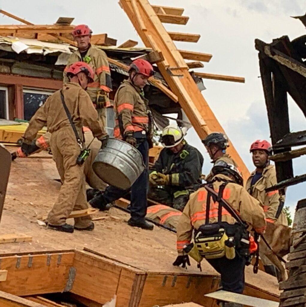 Colapsa otro edificio en EEUU se trata de una construcción al noroeste de Washington